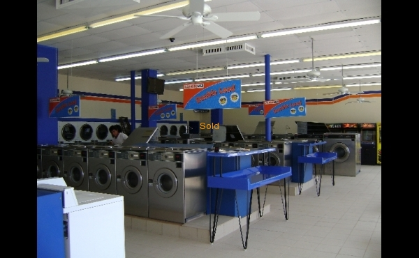 Laundry for sale in Pompano Beach, Florida. - Interior