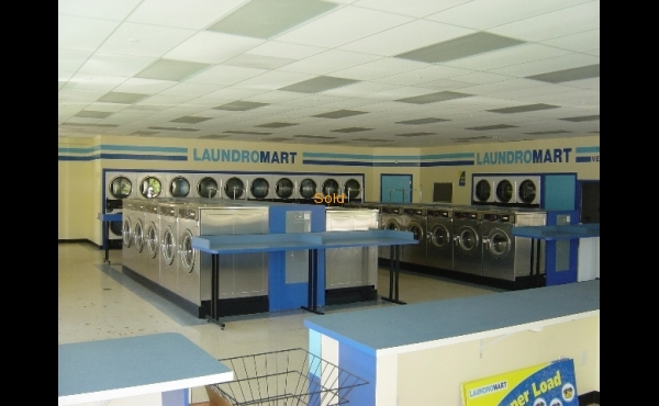 Laundry for sale in St. Petersburg, Florida.- Interior